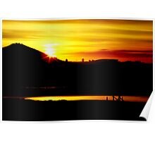 Cape Town Stadium From Milnerton Lagoon (South Africa) Poster