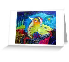 I will fly away Greeting Card
