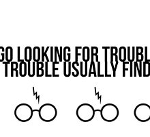 Harry Potter - Trouble by Jerry Zheng
