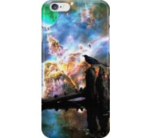 Calling The Night - Crow Art By Sharon Cummings iPhone Case/Skin