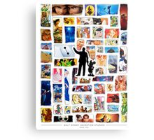 Walt Disney Animation Studios Metal Print