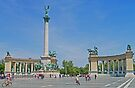Heroes' Square, Budapest by Graeme  Hyde