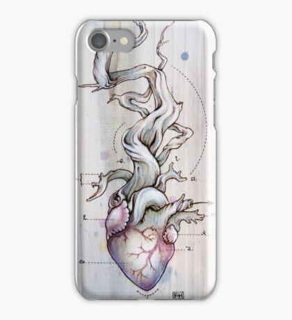 Driftwood Heart 02 iPhone Case/Skin