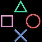 Playstation Buttons Formation by Kingofgraphics