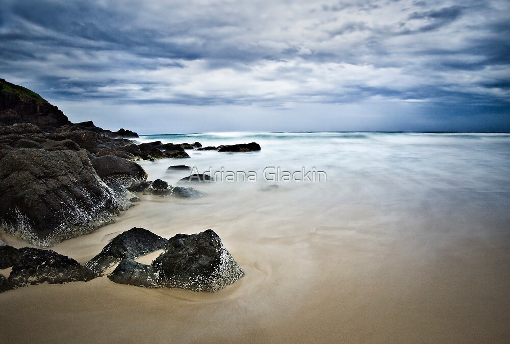 Connors Beach by Adriana Glackin