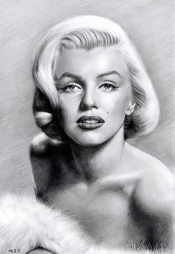 Marilyn  by Martin Lynch-Smith