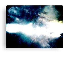 Cosmic Collisions  Canvas Print