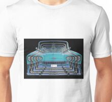 Multiple Blue Chevy Belair Abstract Unisex T-Shirt