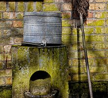 Mop and Bucket by Karen  Betts