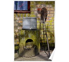 Mop and Bucket Poster