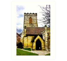 Holy Trinity Church - Goodramgate,York Art Print