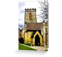 Holy Trinity Church - Goodramgate,York Greeting Card