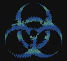 Biohazard Raver Blue by hamsters
