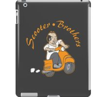 We are Scooter Brothers! iPad Case/Skin