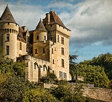 Chateau near la Roque-Gageac by Amanda White