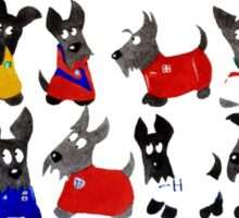Scottie Dogs 'Scottie Soccer' Sticker