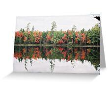 Fall in the Adirondacks Greeting Card