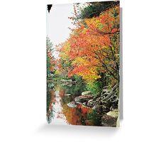 Lake in the Adirondacks Greeting Card