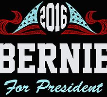 Bernie Sanders For President by ESDesign