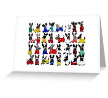 Scottie Dog World Cup 2014 Greeting Card
