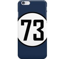 73 - as seen on TV - Sheldon Cooper iPhone Case/Skin
