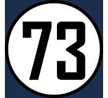 73 - as seen on TV - Sheldon Cooper Photographic Print