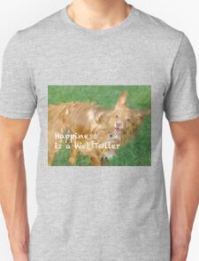 A Wet Toller is a happy Toller Unisex T-Shirt