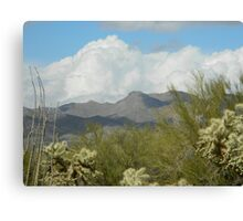 Clouds in the Desert Canvas Print