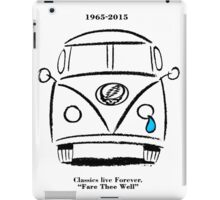 Classics Live Forever - Fare Thee Well iPad Case/Skin