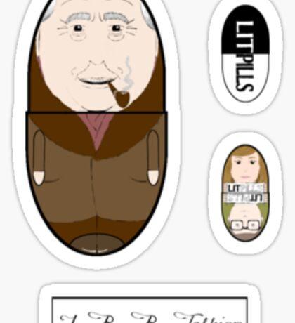 LitPills - J. R. R. Tolkien (Fantasy Classics Series) Sticker