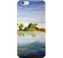Midafternoon Lake iPhone Case/Skin
