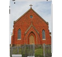 Old Abandoned Church, Hill End iPad Case/Skin