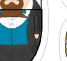 LitPills - Charles Dickens (Classics Series) Sticker