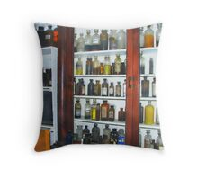 Apothecary Shop Throw Pillow