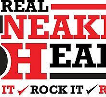 Real Sneakerheads (Cop it, Rock it, Repeat) by tee4daily