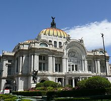 The Fine Arts Palace, Mexico City by krista121