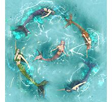 Sychronized Swimming Photographic Print