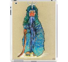 Penguin man iPad Case/Skin