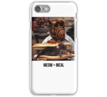 Alf Meow iPhone Case/Skin