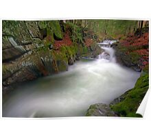 Honey Hollow Gorge - Preston Brook - Wide Poster
