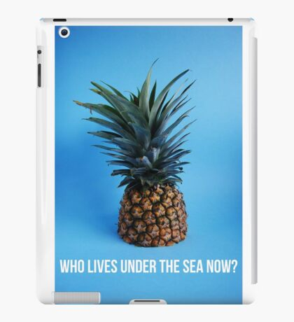 SpongeBob Homeless iPad Case/Skin