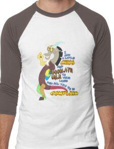 Add A Little Chaos Men's Baseball ¾ T-Shirt