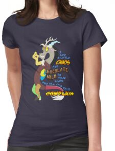 Add A Little Chaos Womens Fitted T-Shirt