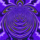 Abstract In Purple. by Margaret Stevens