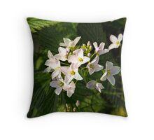 The Healing Beauties of April Throw Pillow