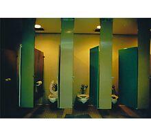 Empire Restroom Photographic Print