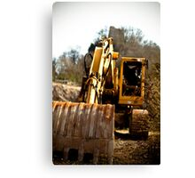 Hydraulic Shovel Canvas Print