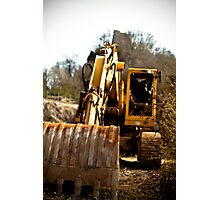 Hydraulic Shovel Photographic Print