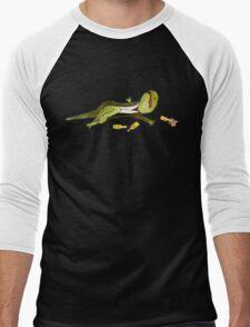 Mute Newt Men's Baseball ¾ T-Shirt