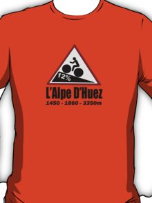 Tour de France Cycling Alpe d'Huez Shirt T-Shirt